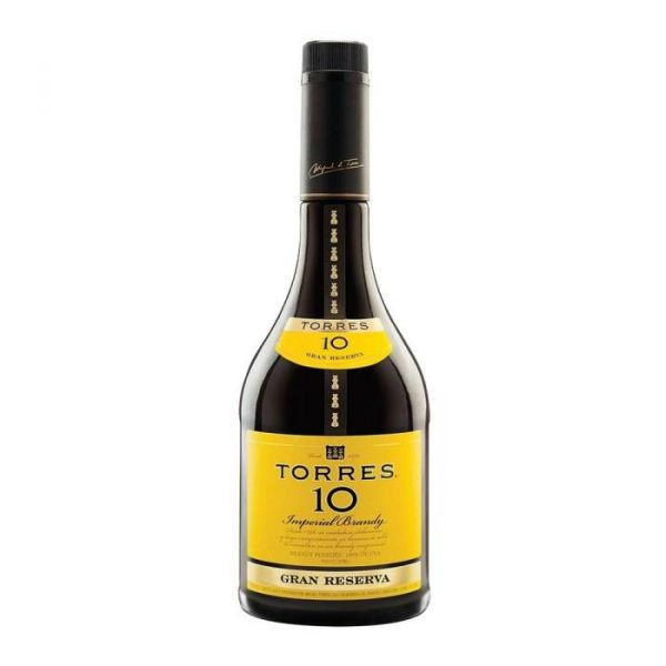 BRANDY TORRES 10 GRAN RVA 700 ML