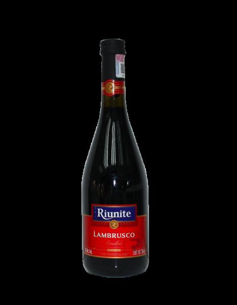 VINO TINTO RIUNITE LAMBRUSCO 750 ML