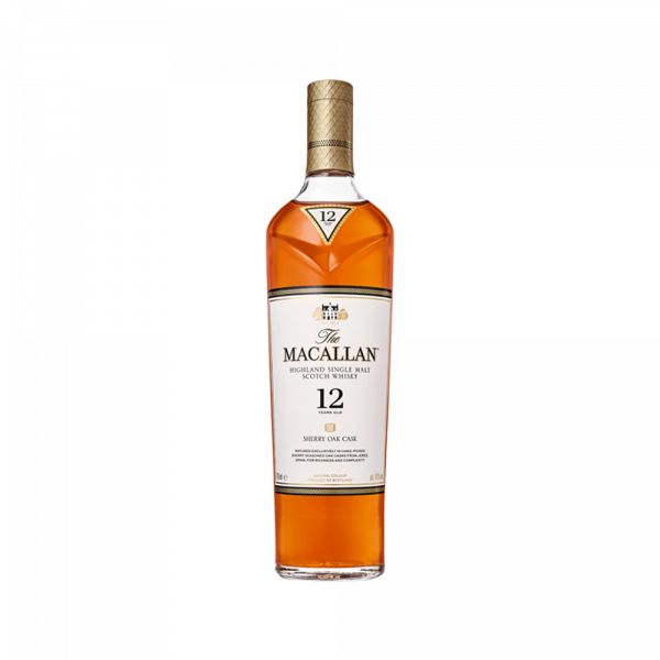 WHISKY THE MACALLAN 12 AÑOS 700 ML